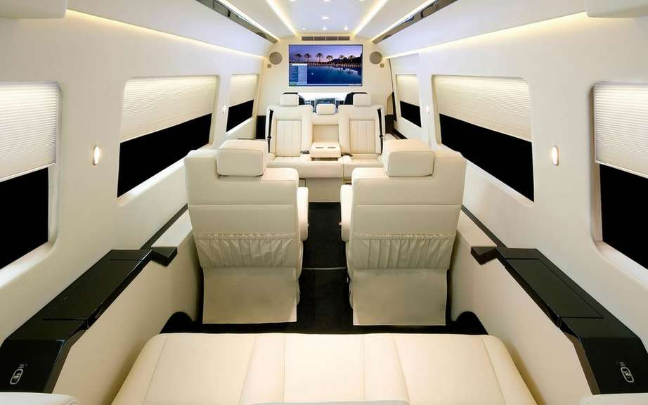Mercedes-Benz Sprinter Jetvan: all the private jet on wheels