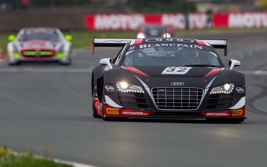 Audi triumph for the launch of World Championship GT Cars
