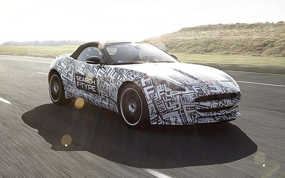Jaguar F-Type 2013: based on the C-X16 concept picture #4