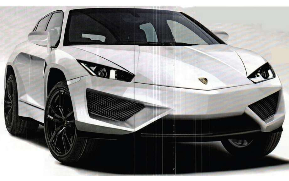 Lamborghini has presented his New York Sport Utility Vehicle
