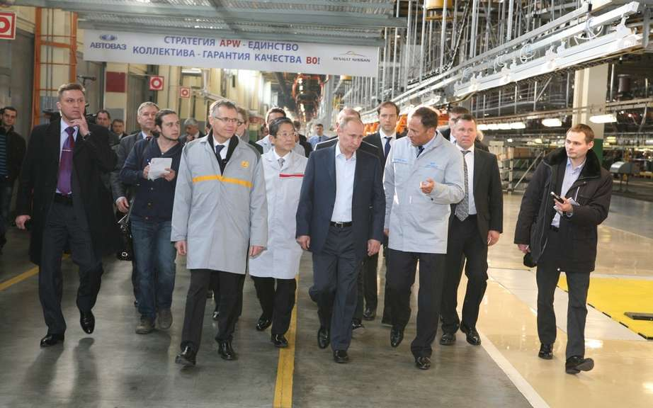 Renault-Nissan and AvtoVAZ inaugurated a new production line in Togliatti