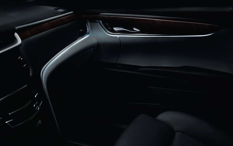 Intelligent lighting of the Cadillac XTS picture #4