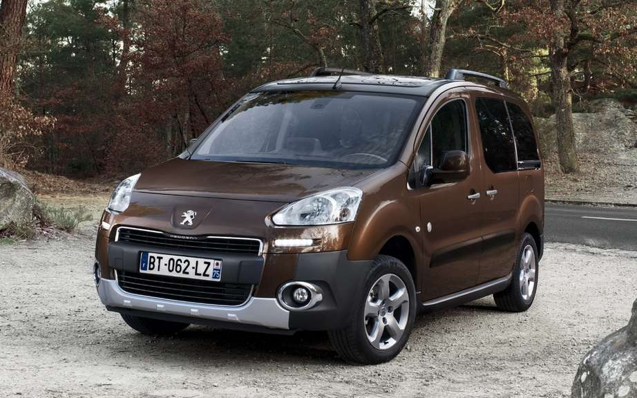 Peugeot Partner Tepee: elected Car of the year 2012 in the