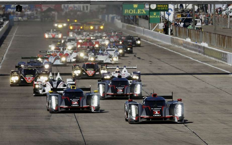 12 Hours of Sebring: Domination unchallenged for Audi picture #1