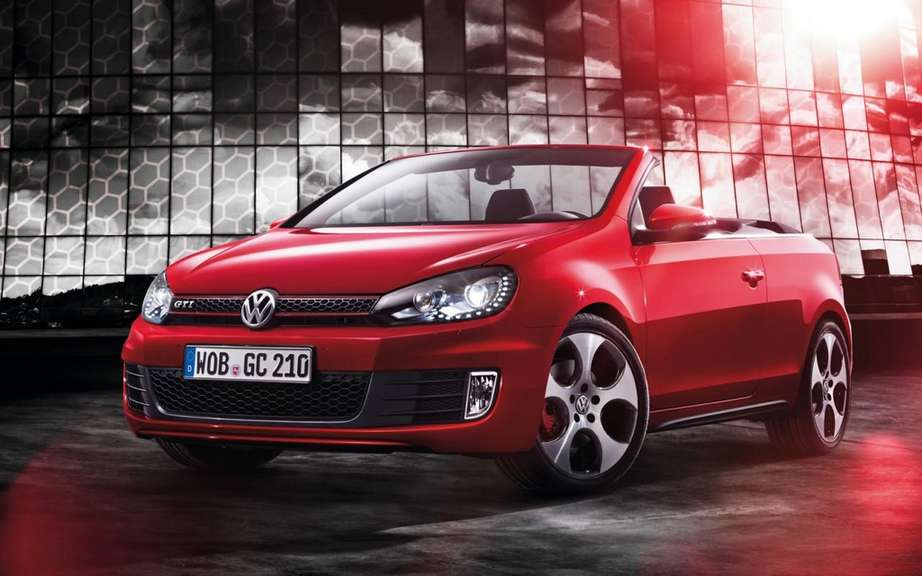 Volkswagen Golf GTI Cabriolet: a convertible version 3