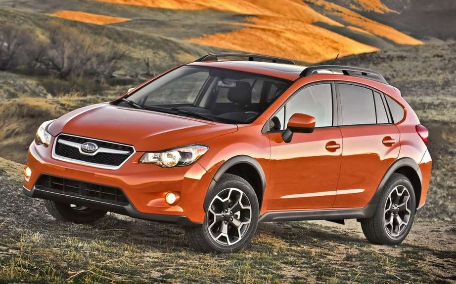 Subaru XV Crosstrek: North-American premiere in New York