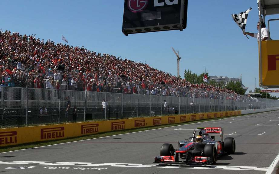 Lewis Hamilton signs a third victory at the Grand Prix of Canada