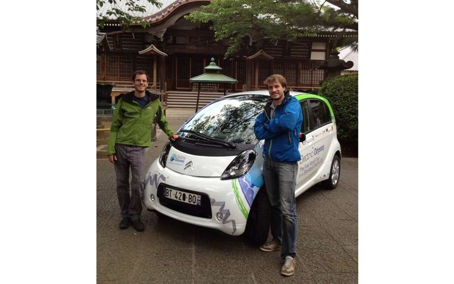 Odyssee Electric: Citroen C-ZERO loop Japanese stage! picture #2