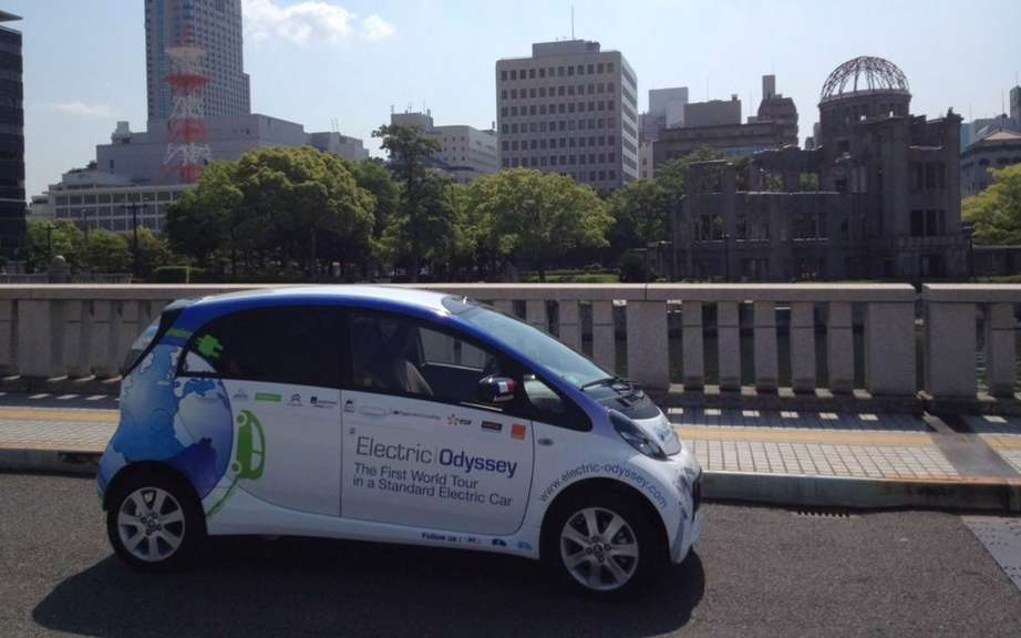 Odyssee Electric: Citroen C-ZERO loop Japanese stage! picture #3