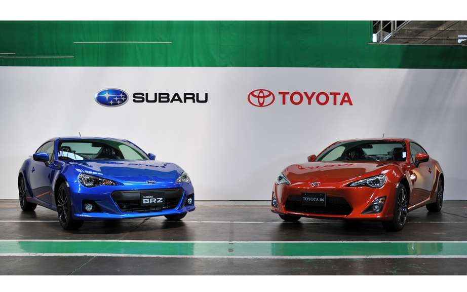 Subaru BRZ, Toyota GT86 and Scion FR-S: Subaru assembled picture #6
