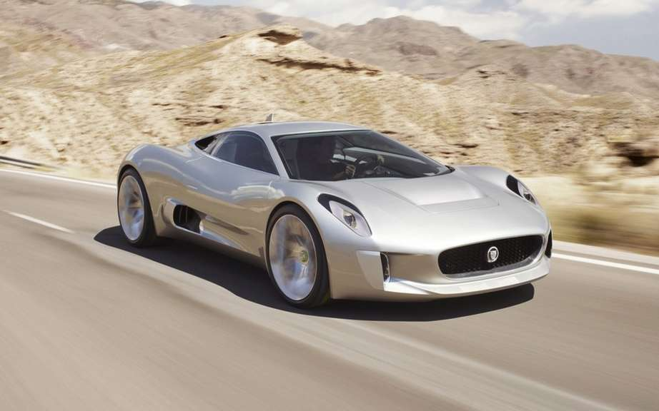 Jaguar C-X75: 250 copies for a few privileged