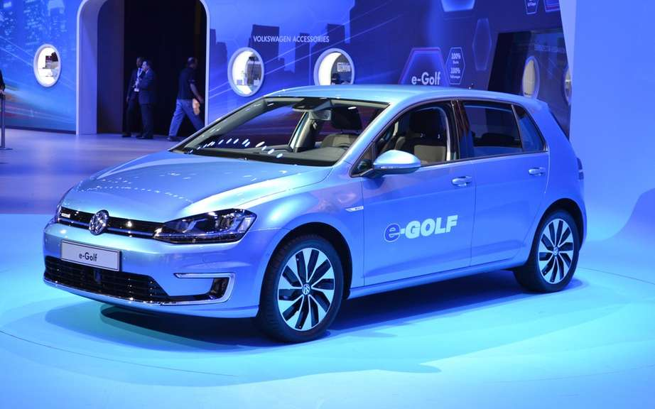 Volkswagen e-Golf: 500 prototypes testing picture #1