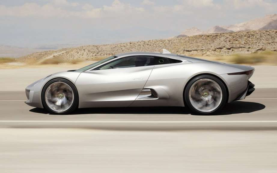 Jaguar C-X75: 250 copies for a few privileged picture #2