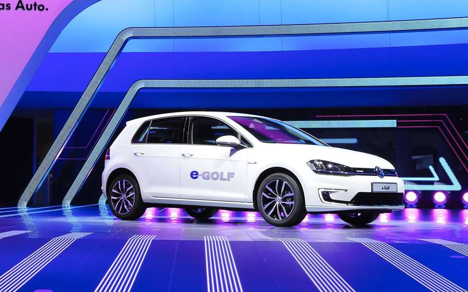 Volkswagen e-Golf: 500 prototypes testing picture #2