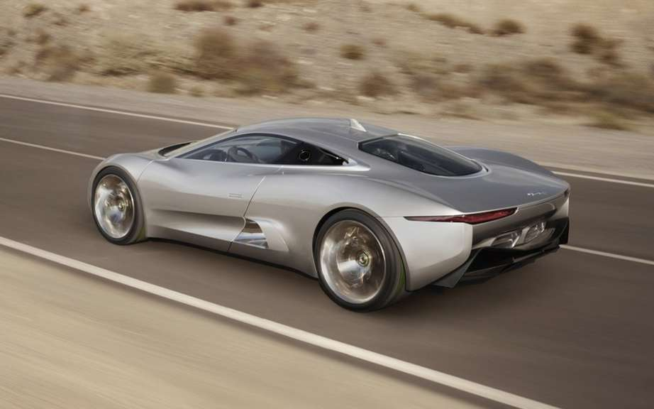 Jaguar C-X75: 250 copies for a few privileged picture #3