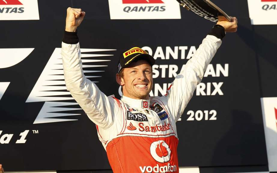 Jenson Button won the first F1 Grand Prix of the season