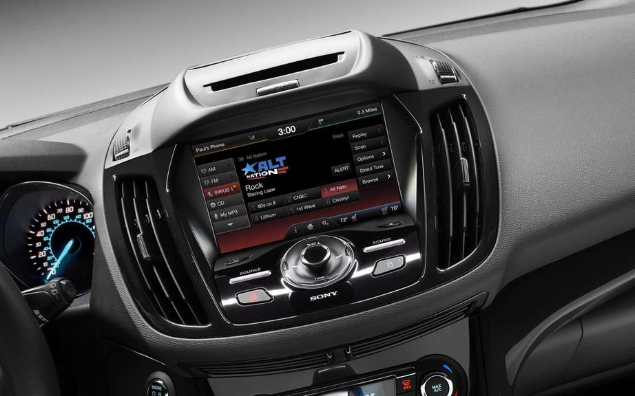 Ford Escape 2013: a beautiful sound environment
