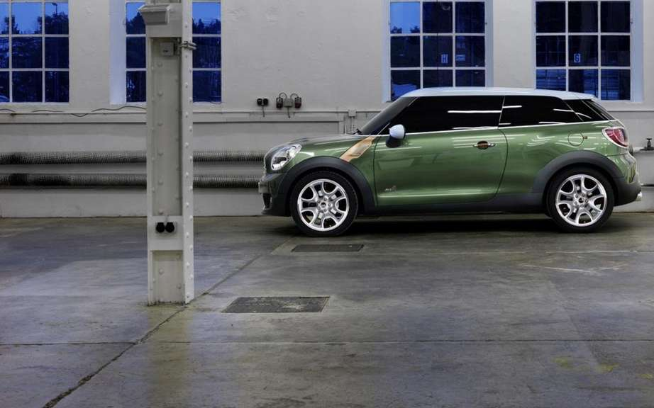 Mini Paceman Concept become the Mini Countryman Coupe picture #3
