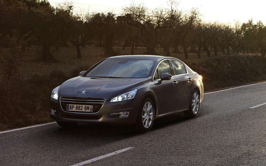 Peugeot 508: it has just been voted