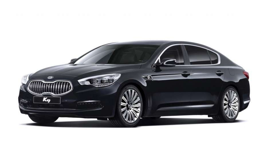 "Kia unveiled its new flagship sedan ""K9"" for the Korean market picture #1"