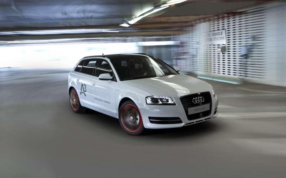 Audi A3 e-tron: the reserved tests to Americans picture #2