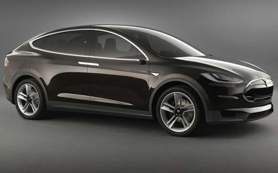 Tesla Model X Concept: Back to the Future