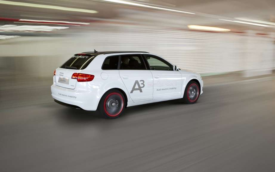 Audi A3 e-tron: the reserved tests to Americans picture #3