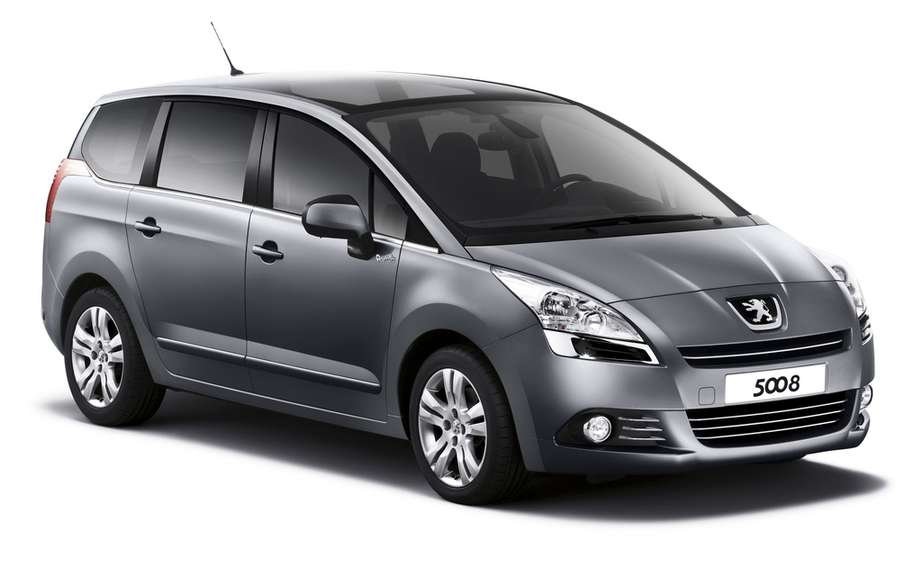 "Peugeot launched in March the limited series ""Style"" on models 308, 3008 and 5008. picture #3"