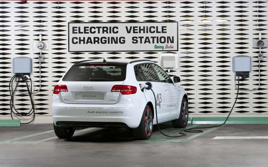 Audi A3 e-tron: the reserved tests to Americans picture #4