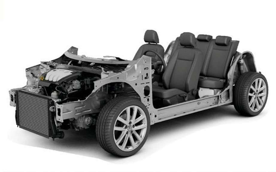 Volkswagen presents the new MQB platform picture #2