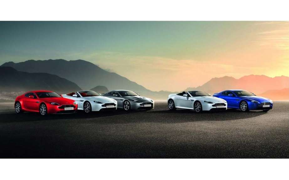 Aston Martin Vantage 2012: a reconstituted family