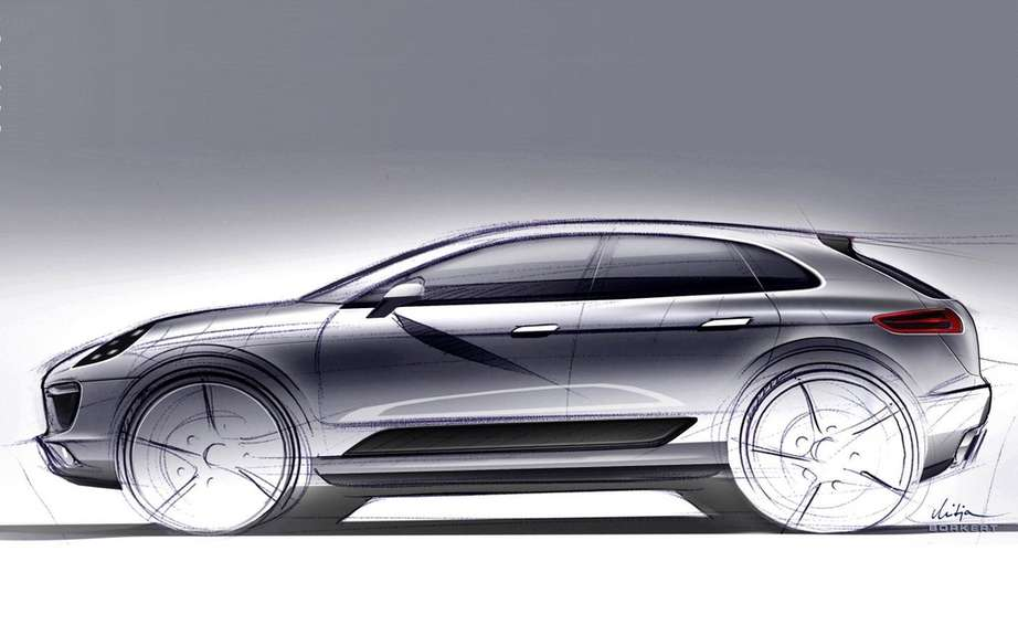 Porsche Macan: the official name of the compact SUV picture #2