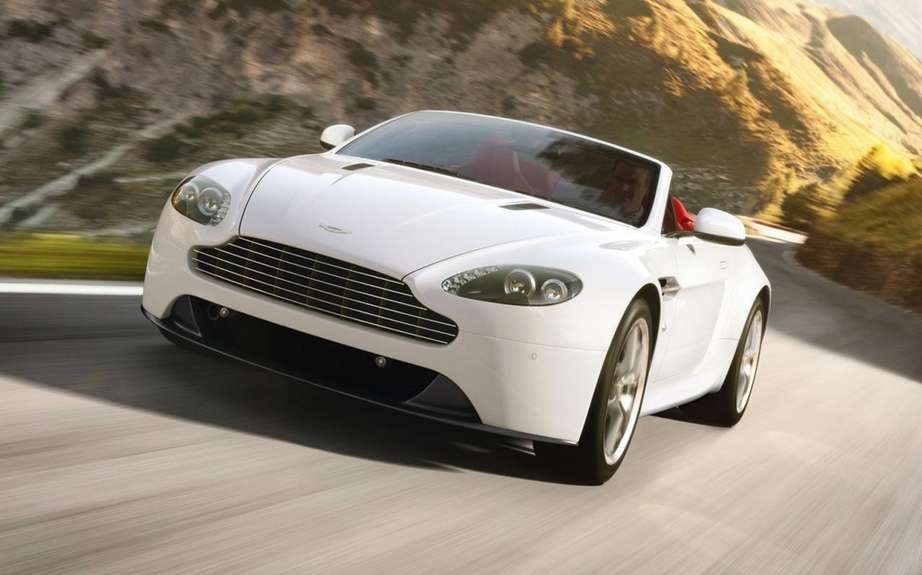 Aston Martin Vantage 2012: a reconstituted family picture #3