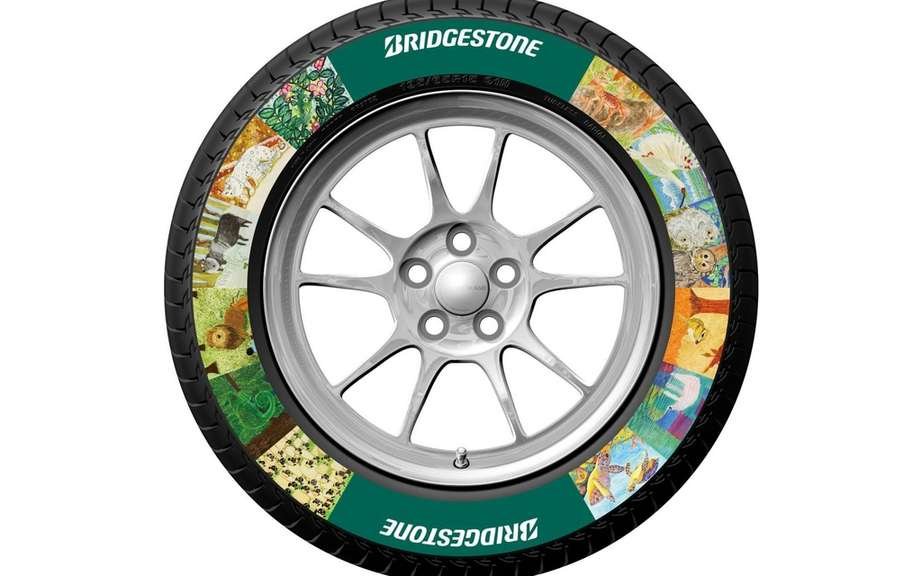 Bridgestone presents its tire pictures