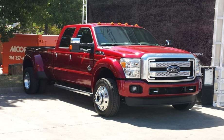Even more power for the Ford F Series Super-Duty