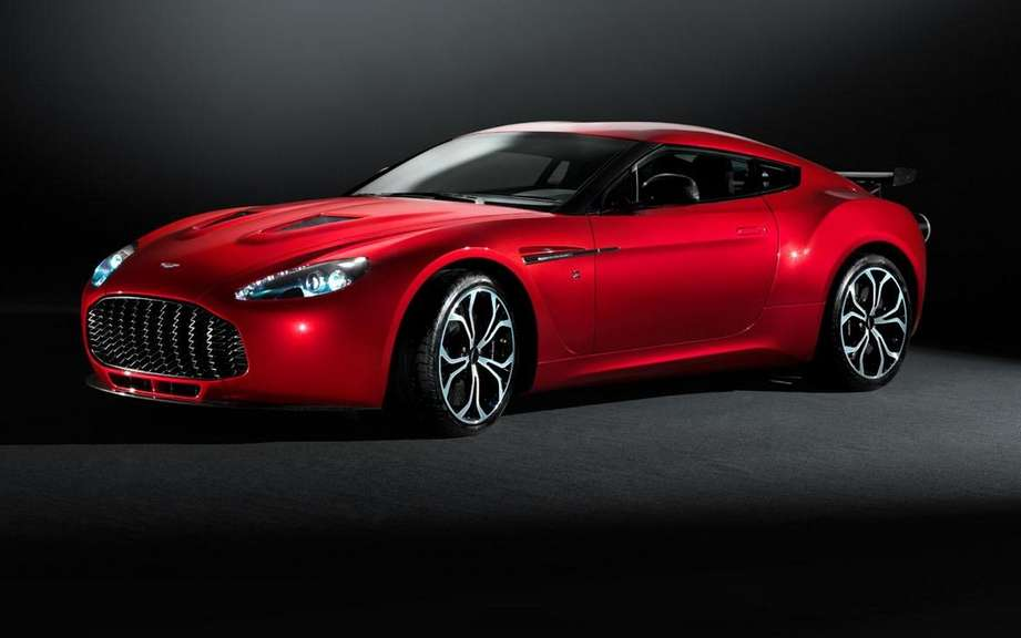 Aston Martin V12 Zagato: what do we salivate