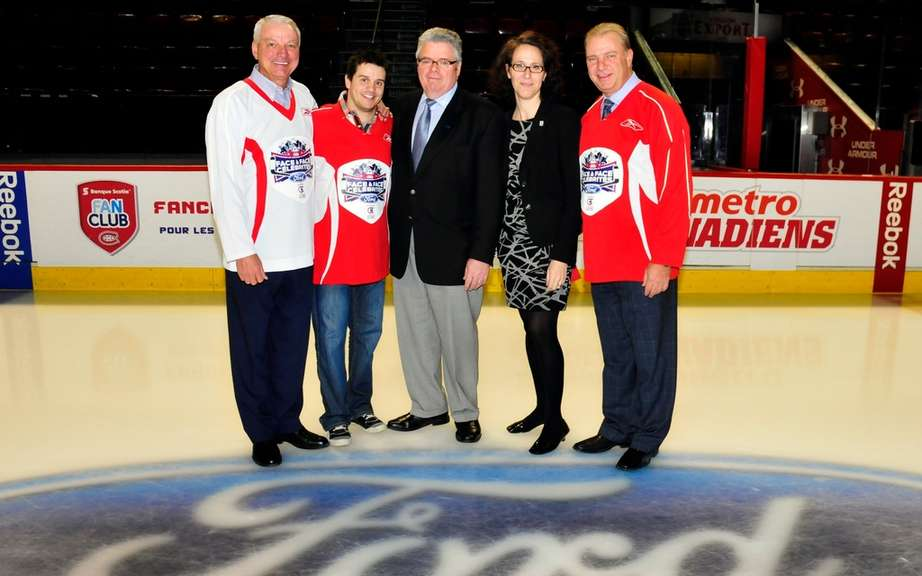 Quebec celebrities lace up their skates for a good cause picture #1