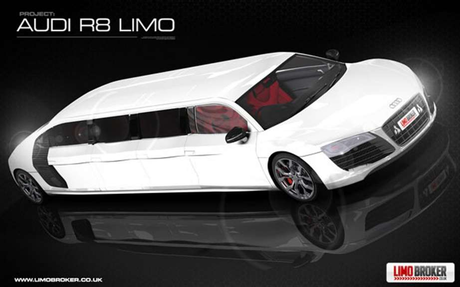 Audi R8 Limo: production is envisaged picture #1