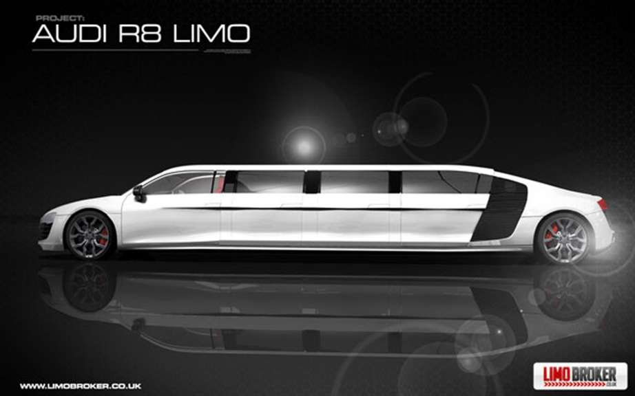 Audi R8 Limo: production is envisaged picture #3