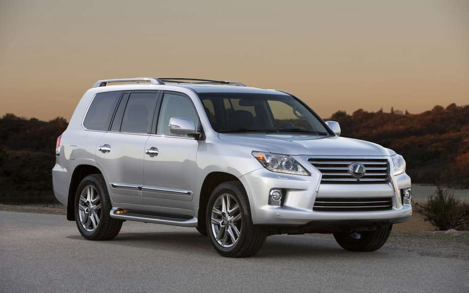 Lexus LX 2013: price more tantalizing departure?