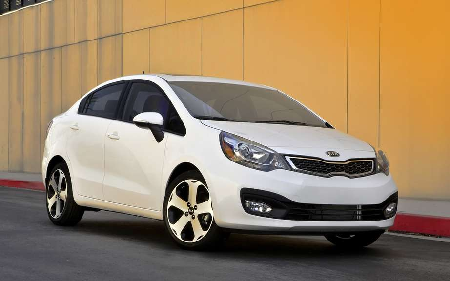 Kia Rio sedan 2012: from $ 13,795