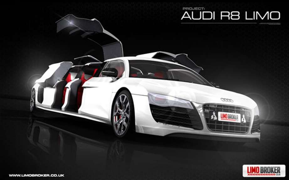 Audi R8 Limo: production is envisaged picture #5
