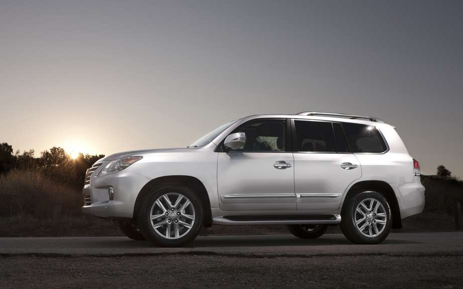 Lexus LX 2013: price more tantalizing departure? picture #2