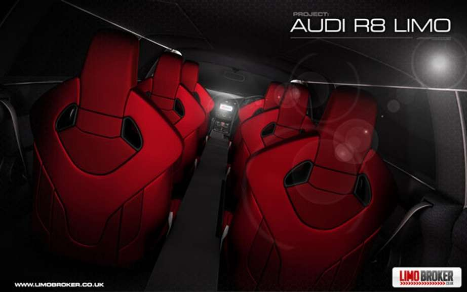 Audi R8 Limo: production is envisaged picture #6