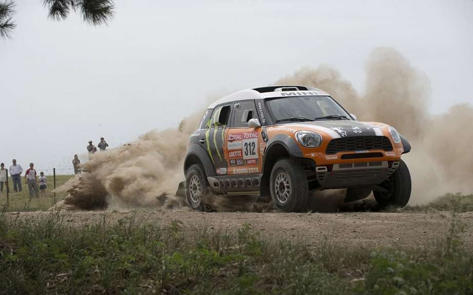 Mini dominate the first stage of the Dakar Rally-Raid