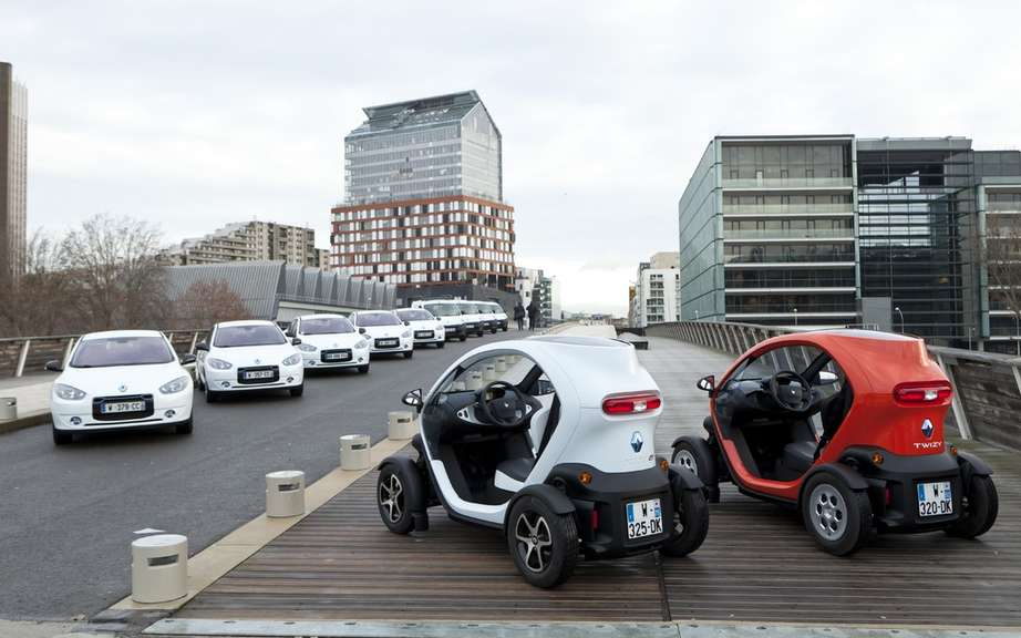 Renault and Boulogne-Billancourt open first European test center for electric vehicles