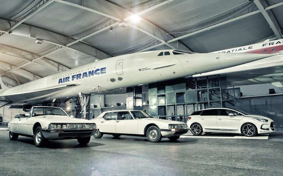 Citroen DS5 and the Concorde!