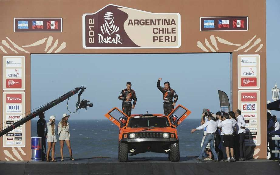 Mini dominate the first stage of the Dakar Rally-Raid picture #3