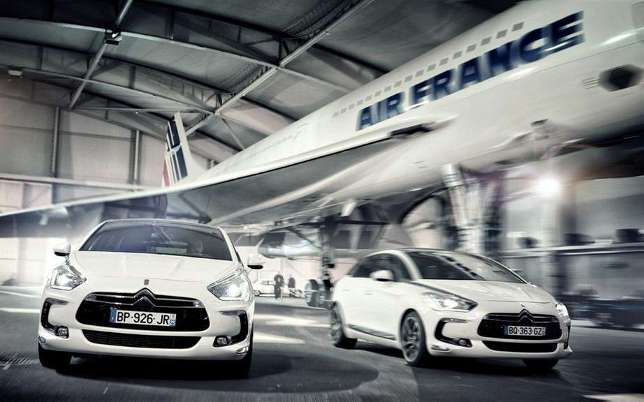 Citroen DS5 and the Concorde! picture #2