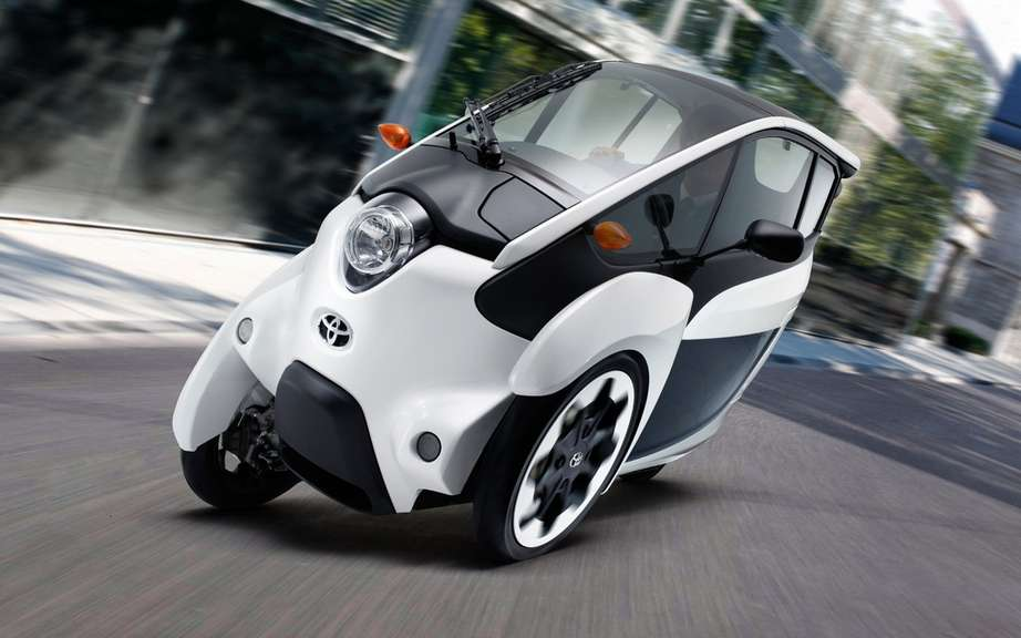 Road tests for the Toyota i-Road picture #9